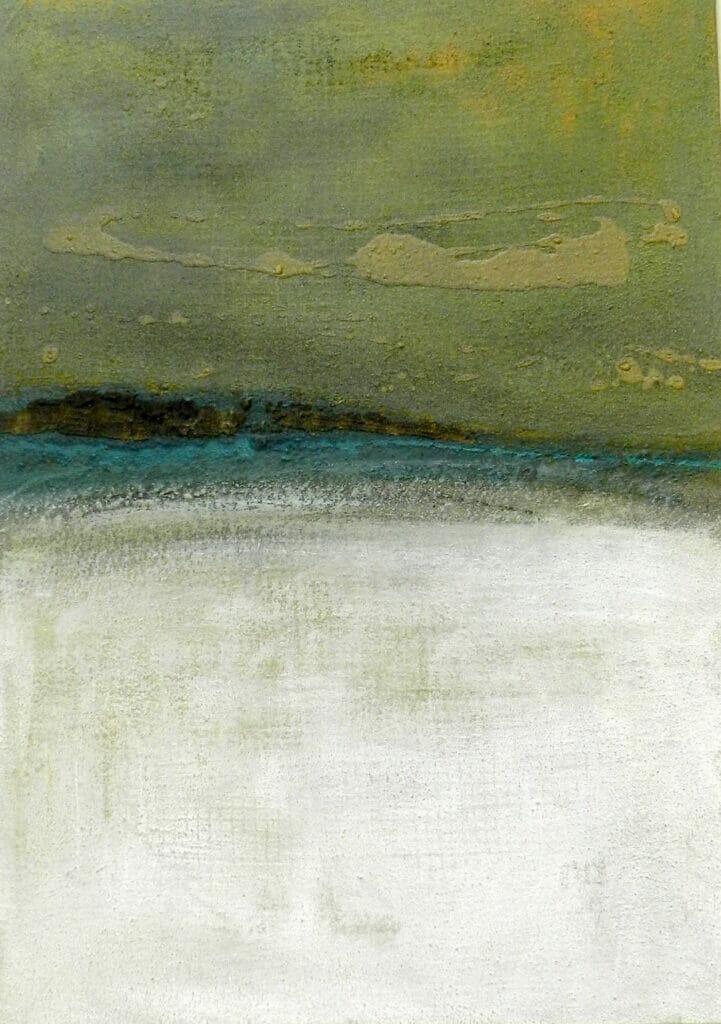 Landschaft mit zyprischer Erde